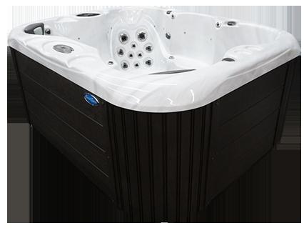 Omega Bench Exterior Hot Tub